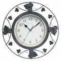 "Chaney, 14"" Falling Leaves Wall Clock, 46033A1"