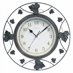 """Chaney, 14"""" Falling Leaves Wall Clock, 46033A1"""