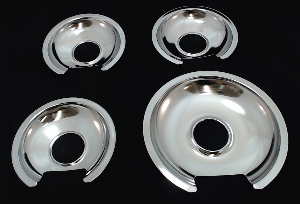 Gedp31ge Chrome Burner Pans For General Electric