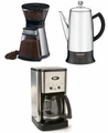 Coffee Maker, Percolator, Coffee Grinder Parts