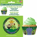 Cupcake Creations, No Muffin Pan Required Baking Cups, Jungle Time, 90332