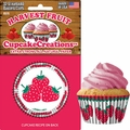 Cupcake Creations, No Muffin Pan Required Baking Cups, Strawberry, 89762