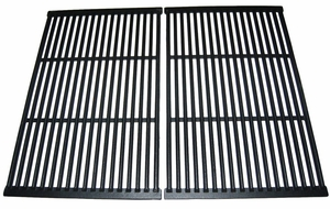 Gas Grill Cast Iron Cooking Grid, 2 pcs, for Brinkmann & Others, 66662