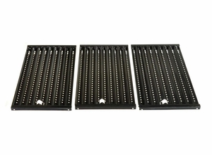 Gas Grill Porcelain Steel Wire Cooking Grid, 3 pcs, for Ducane & Others, 53083
