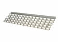 Gas Grill Stainless Steel Heat Plate for Viking, 94091