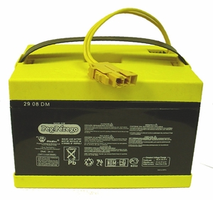 Genuine OEM Peg-Perego 24-Volt Battery, For use in 2-Speed Vehicles, IAKB0522
