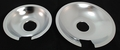 Jenn Air Range Stove Cooktop Drip Pan Set, 715877 & 715878