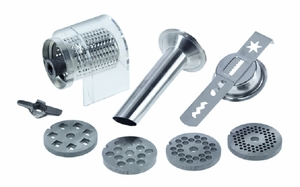 Jupiter Accessory Set for Food Grinder 476100 fits KitchenAid Stand Mixers 862250