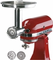 Jupiter Metal Food Grinder Attachment for KitchenAid Stand Mixers, 476100