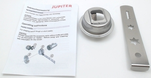 Jupiter Pastry Nozzle Attachment for KitchenAid Stand Mixers, 230006