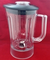 KitchenAid 56-Ounce Plastic Blender Pitcher with Black Lid, KSB649POB