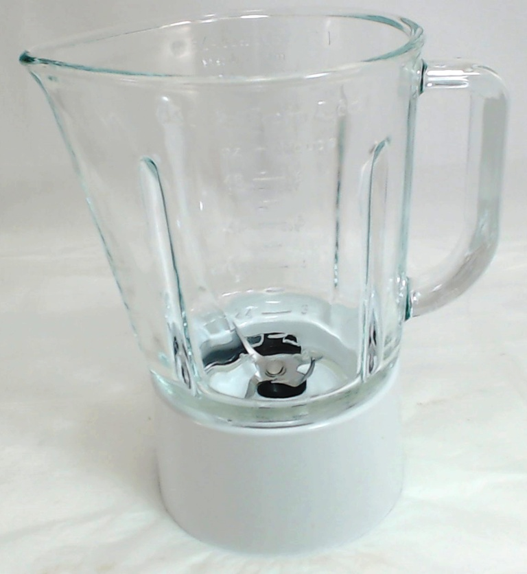W10279528 Kitchenaid Blender Glass Jar Assembly White