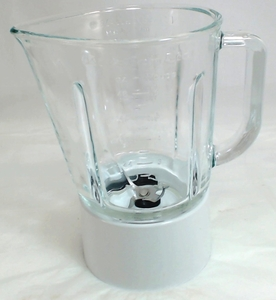 Kitchenaid Blender Glass Jar Assembly White, W10279528