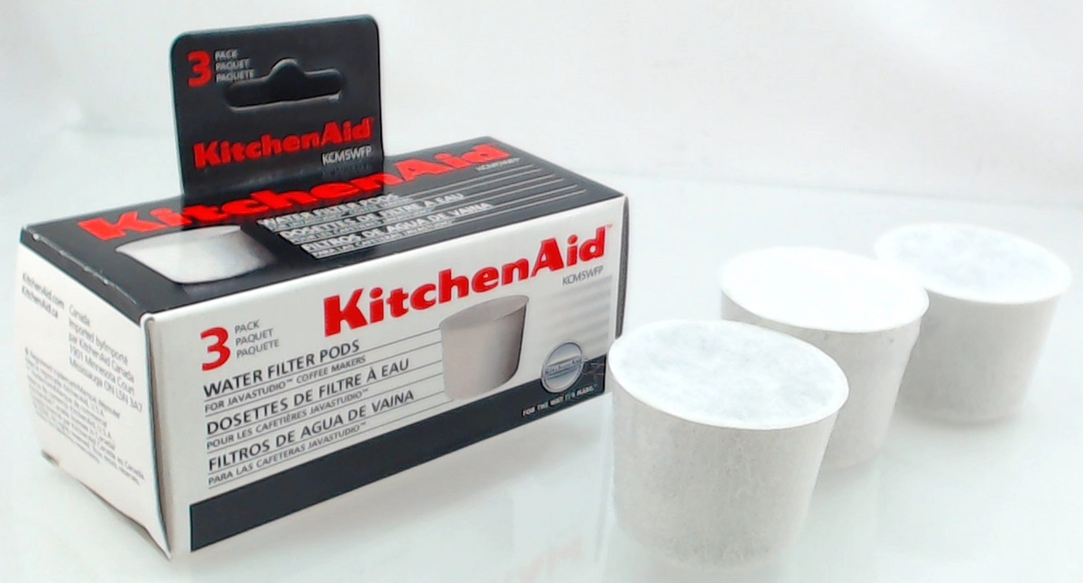 KCM5WFP - KitchenAid Coffee Maker Water Filter Pods 3-Pk