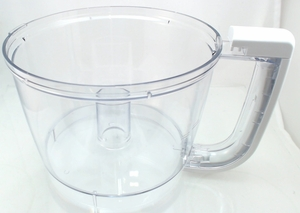 8211906 Kitchenaid Food Proceesor Work Bowl With White Handle
