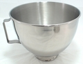 KitchenAid Mixer 4.5 QT SS Bowl w/Handle K45SBWH AP4325313 PS1485588 W10802058