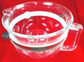 KitchenAid Stand Mixer, 6 Quart, Glass Work Bowl, W10532186