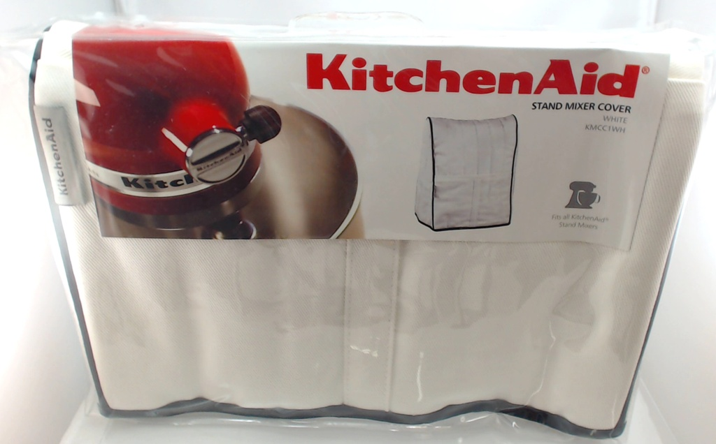 Kitchenaid Mixer Cover ~ kmcc1wh kitchenaid stand mixer cloth cover in white