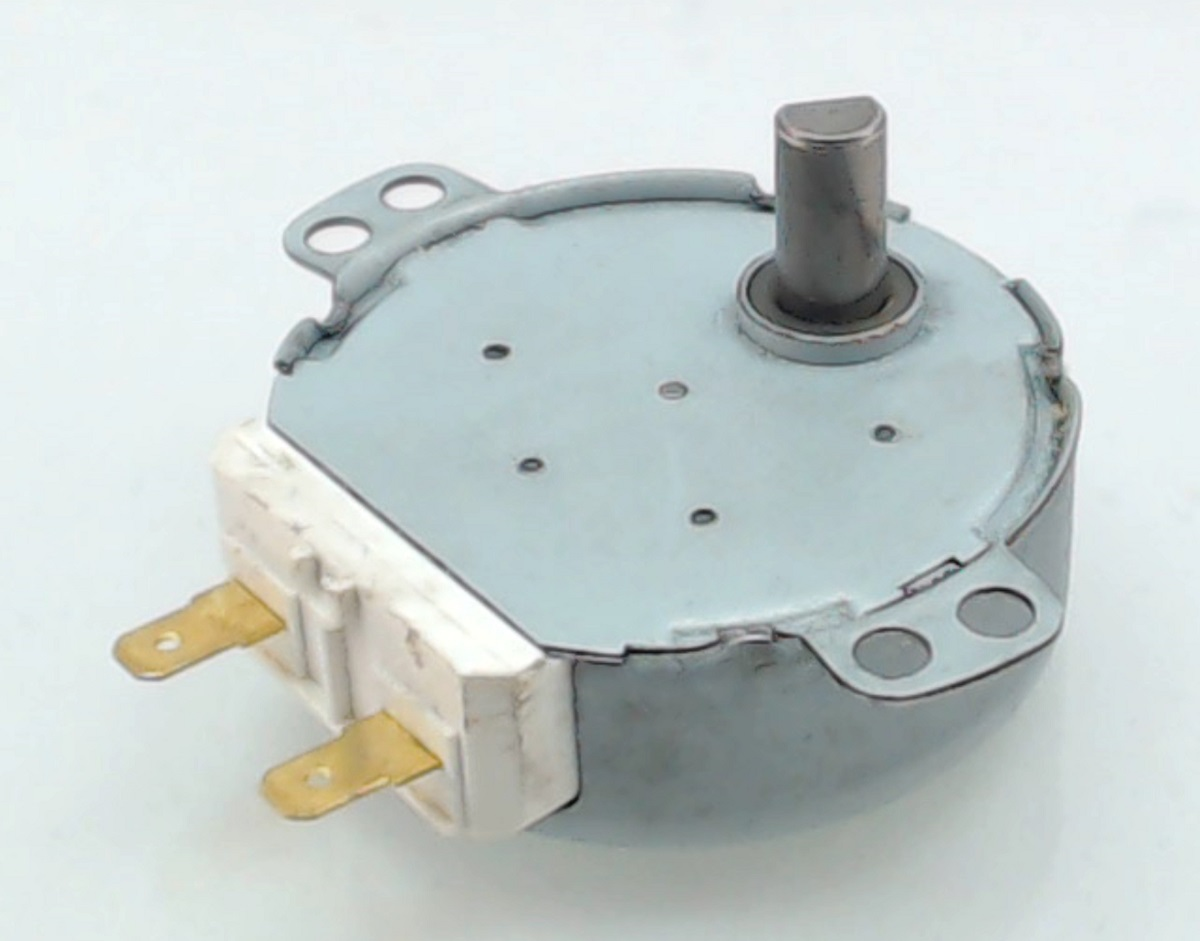 Wb26x10025 microwave turntable motor for general electric for Frigidaire microwave turntable motor