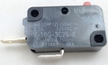 """Microwave Universal Door Switch, 2 Wire, 3/16"""" Male Terminals, 15 Amp, 28QBP0497"""