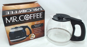 Mr. Coffee 12 Cup Black Carafe, PLD12