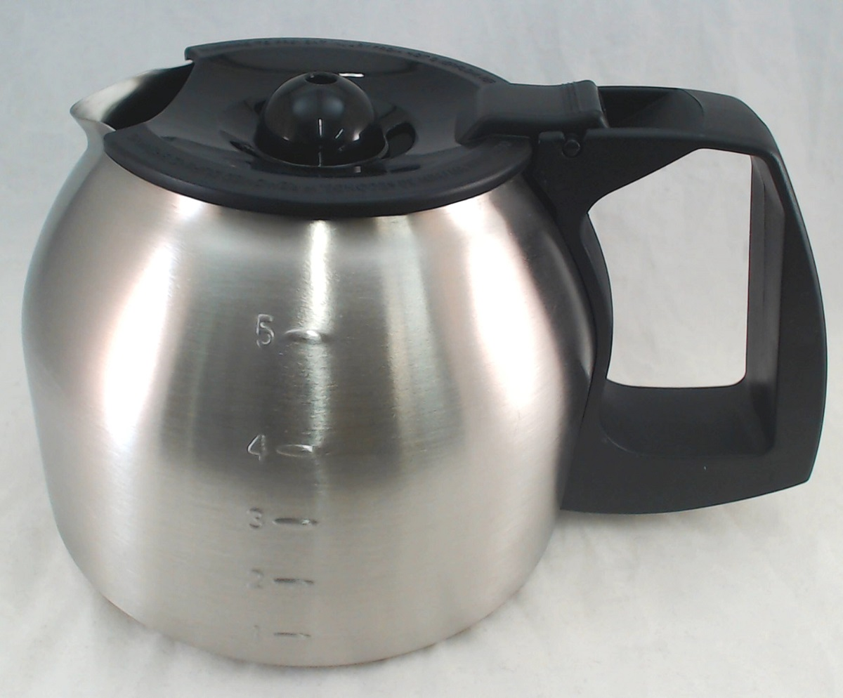 139049 000 000 Mr Coffee Stainless Steel Carafe 5 Cup