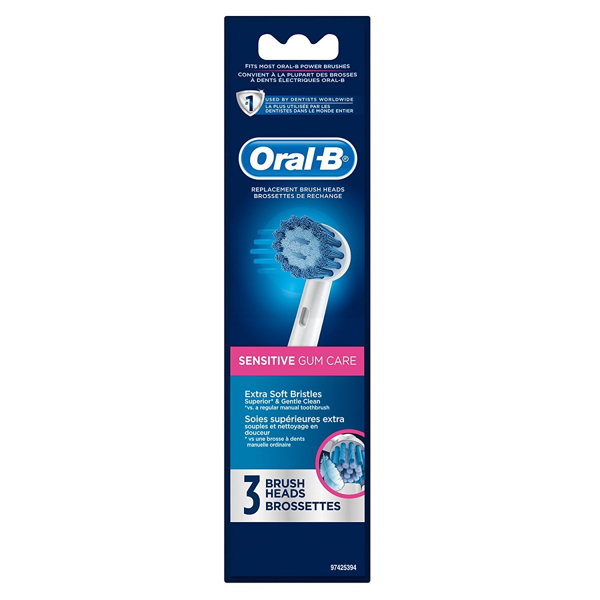 80274131 - Oral-B Sensitive Gum Care Replacement Brush ...