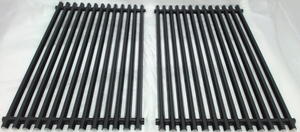 Porcelain Steel Cooking Grid for Weber Gas Grills, Set of 2, 53812