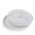 Presto Add-On Nesting Dehydrator Trays For Dehydro Food Dehydrators, 2-Pk, 21808