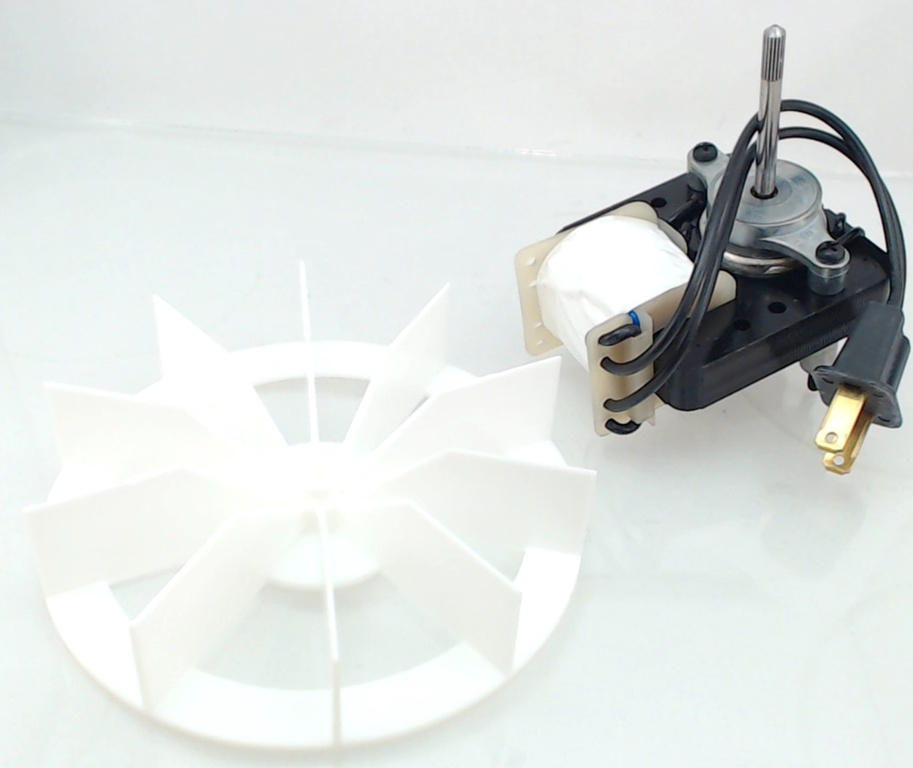 97012038 range hood motor with blade for broan for Broan nutone replacement fan motor kits