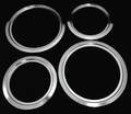 Range Top Trim Ring Set For General Electric, 2 of WB31X5013 & 2 of WB31X5014, GETR22