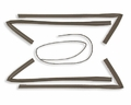Refrigerator Door Gasket for General Electric, AP2641959, PS296947, WR24X421