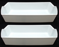 Refrigerator Door Shelf Bins (2 Pack) for Whirlpool, Sears, 2OF2187172K