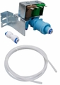 Refrigerator Water Valve Kit for Whirlpool, Sears, Kenmore, 4389177, W10408179