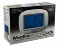 Sentry Big Screen Weather Alarm Clock, CL933