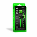 Sentry Bluetooth, Rechargeable, Ear Buds with Built In Microphone, Green, BT150GN - NLA