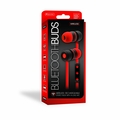Sentry Bluetooth, Rechargeable, Ear Buds with Built In Microphone, Red, BT150RD
