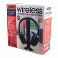 Sentry Wireless Headphone & Transmitter, 100' Range, HW701