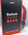 Sentry Xtraem Bluetooth Headphones with Built In Microphone, Red, BT100