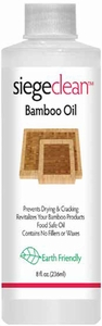 Siege Bamboo Oil, 8 oz, Earth Friendly, Made in USA, 789