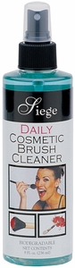 Siege Daily Cosmetic Brush Cleaner, 8 oz, Made in USA, 903