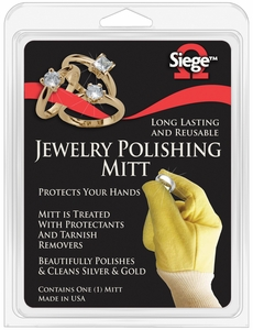 Siege Jewelry Polishing Mitts, Made in USA, 63017