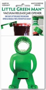 Siege, Little Green Man, Vacuum Release Multi-Purpose Jar Opener, 9915