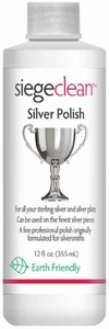 Siege Silver Polish, 12 oz, Made in USA, Earth Friendly, 763L