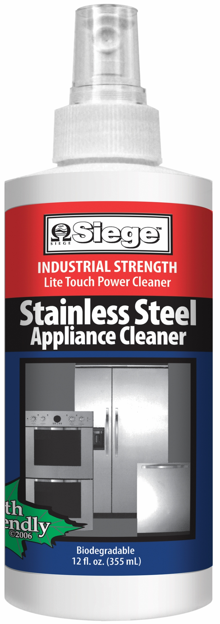 782 Siege Stainless Steel Appliance Cleaner
