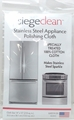 Siege Stainless Steel Appliance Polishing Cloth, Made in USA, 63033