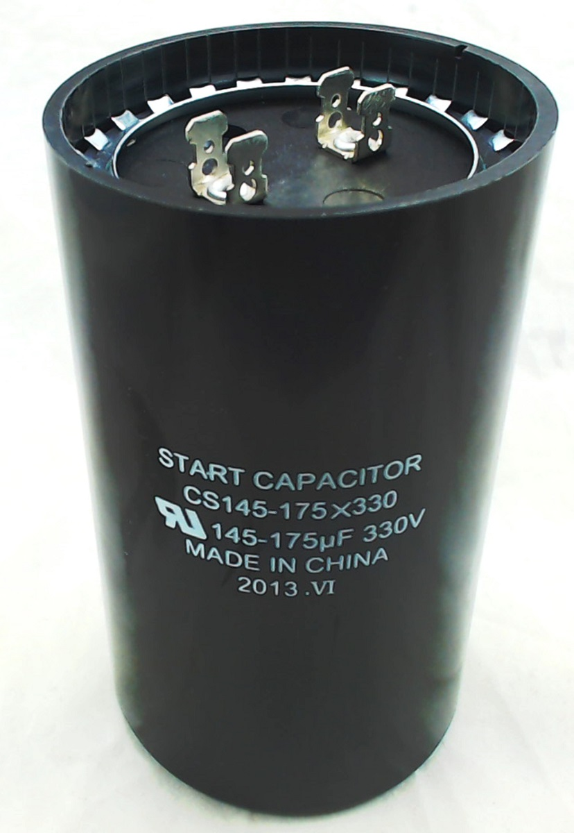Cs145 175x330 Start Capacitor Round 145 175 Mfd 330 Volt