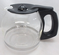 Sunbeam 12 Cup Coffee Maker Decanter, Black, for Models: TGX23, 132739-000-000