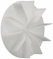 Supco FB460 Plastic Impeller for Broan, AP3156816, 15033