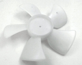 "Supco Plastic Fan 5 Blade, 4"" Diameter, 1/8"" Shaft, AP4502790, FB401"